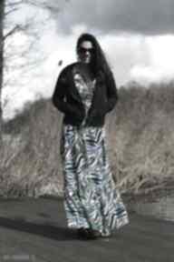 Spacer laguną spódnice ququ design letnia sukienka, boho komplet