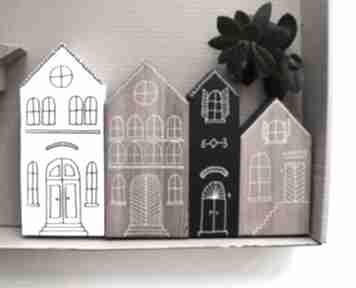 Pomysł na upominki święta? 4 x domki drewniane dekoracje wooden