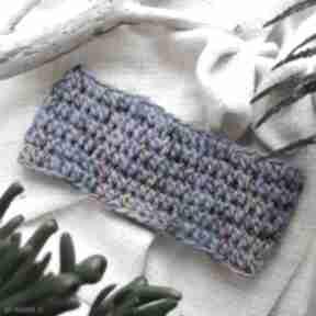 Niebieska opaska na głowe opaski godeco opaski, ciepła, wiosenna