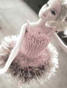 Lalki zaamotanazofja sukienka barbie, balowa, imprezowa, prezent