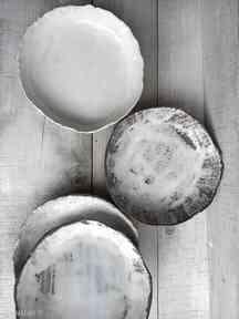 Zestaw półmisków z różnych glin wyjątkowe ceramika kmdeka
