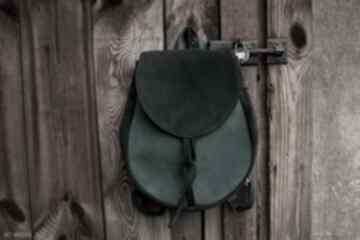 Lizbeth plecak torba zamsz naturalny zimne zielenie czajkaczajka