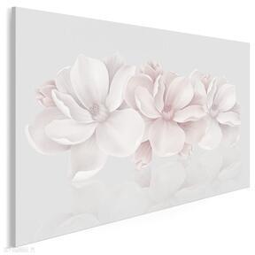 Obraz na płótnie - kwiaty różowy 3d 120x80 cm 58201 vaku dsgn