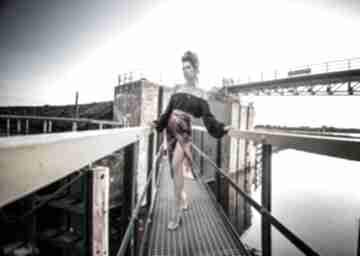 Emily black - spódnica spódnice milita nikonorov midi