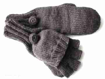 Bezpalczatki z klapką #14 rękawiczki mondu rękawiczki, mitenki