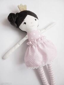 Lalki mallow lalka szmaciana, królewna, korona, prezent
