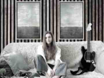 Luci and Love! akrylowy obraz-abstrakcyjny nowoczesny