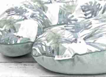 NuvaArt. poduszka karmienia papugi tropikalne haft wyprawka