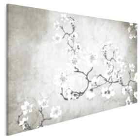 Obraz na płótnie - kwiaty orient japonia 120x80 cm 50901 vaku