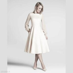 Sukienka aniela total midi vanillia sukienki livia clue midi
