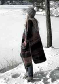 Multikolor sweter boho swetry the wool art sweter, kardigan