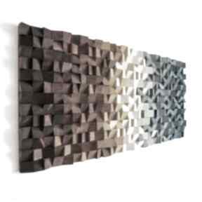 """Mozaika drewniana, obraz drewniany 3d """"b01"""" dekoracje wood light"""