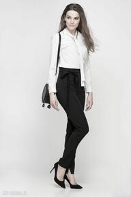 LANTI urban fashionwstążka szarfa czarne wysokie pasek