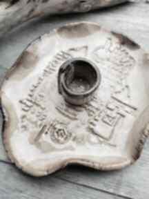 Ceramiczny talerzyk do santo palo c204 ceramika shiraja talerzyk