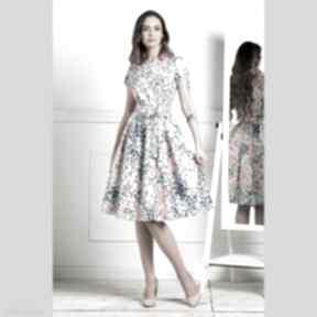 Sukienka marie midi anabelle sukienki livia clue rozkloszowana