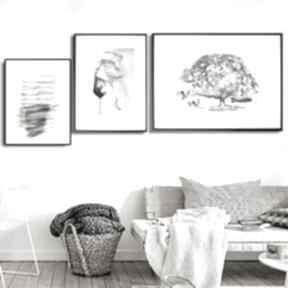 Grafika w ramie z passe-partout drzewo marzeń 40x30 renata