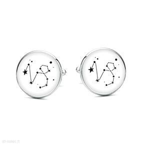 spinki do mankietówgwiazdy horoskop upominek prezent oryginalne