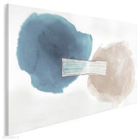 Obraz na płótnie - abstrakcja kształty koła 120x80 cm 701501