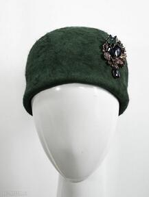 Zielona jackie czapki fascynatory kapelusz, czapka, zieleń,
