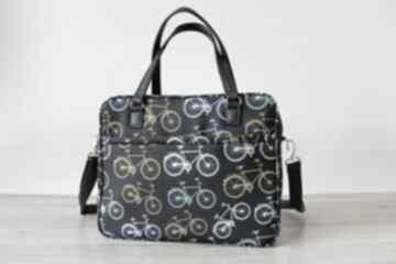 Torebki Niezwykle: Torba miejska - rowery retro