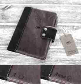 notesynotes-skórzany notes-a5 pamiętnik kalendarz notatnik