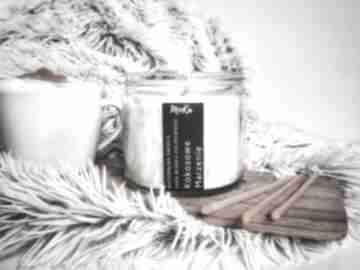 Naturalna świeca kokosowe marzenie świeczniki moka candles