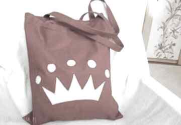 Gabiell? torba eko-torba bawełna korona worek jeans