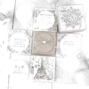 Eksplodujące pudełko ślubne dla młodej pary pamiątka ślubu