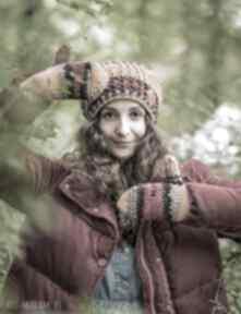 Rękawiczki jesień brain inside rękawiczki, na zime, old school