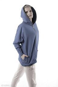 Bluza nietoperz chabrowa conscious bluzy trzyforu bluza