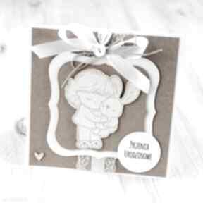 Kartka z życzeniami scrapbooking kartki po godzinach kartka