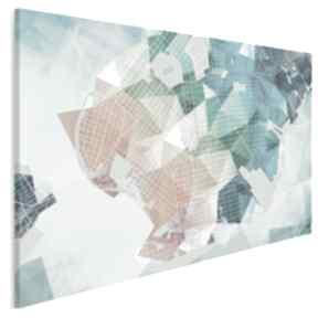 Obraz na płótnie - kształty siatka 120x80 cm 44201 vaku dsgn