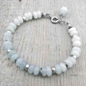 Opal - bransoletka z przekładkami ii irart opal, srebro