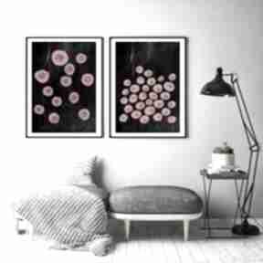 Zestaw 2 prac a2 malgorzata domanska plakat, kwiaty, obraz