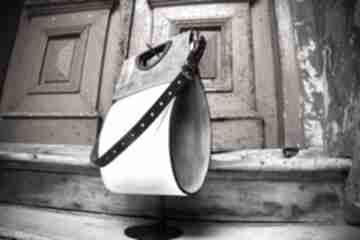 Stylowa skórzana torebka do biura od ladybuq idealna na lato