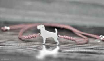 Jack russell terrier szorstkowłosy - bransoletka pasja i pedzlem