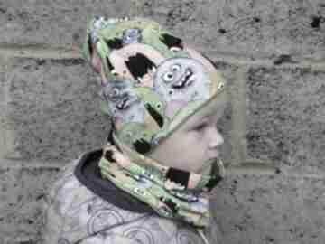 BamBi! POTWORKI zestaw dla dziecka na jesień/zimę, czapka