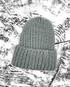Big hat merino czapki s g knitwear czapka na drutach,