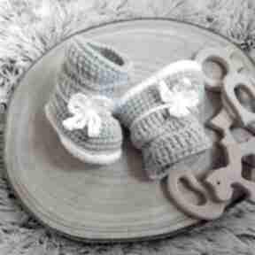 Dziane: buciki dla-dziecka wełniane prezent niemowlęce