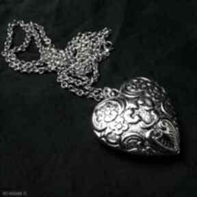 Wielkie serce urocze dwustronne serduszko w sam raz