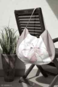 Worek na ramię happyart torba, worek, wiosna lato, kwiatowa