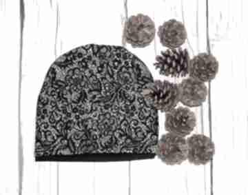 Czapka dziecięca - młodzieżowa we wzorki czapki freefroo czapka