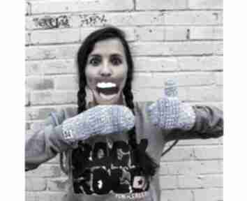 Rękawiczki mode 3 brain inside zima,