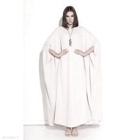 Sukienka laura sukienki pawel kuzik pudrowa, onesize, oversize