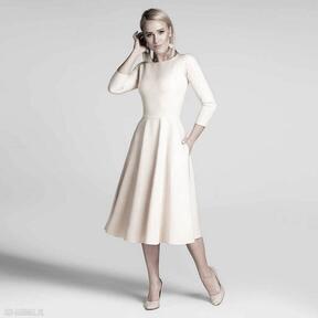 Sukienka klara 3 4 total midi vanillia sukienki livia clue midi