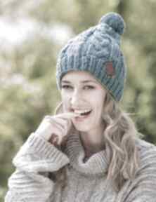 Joy chmurka czapki brain inside czapki, zimowe, wełniane
