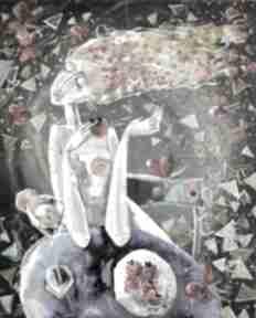 Myśli kobiety marina czajkowska prezent, obraz, czajkowska
