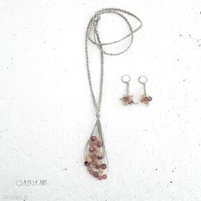 Indian summer komplet biżuterii galeria nuit koral, biżuteria
