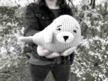Mała foka - maskotka dla dzieci maskotki wernika foka, maskotka