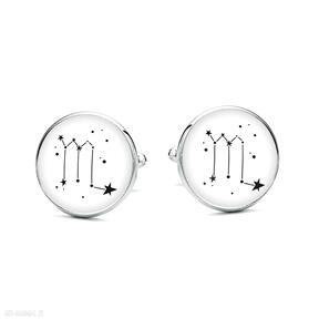 spinki do mankietów: gwiazdy horoskop upominek prezent oryginalne